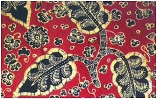 Batik Jambi Motif Bungo Keladi