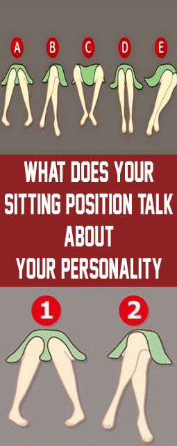 What Does Your Sitting Position Talk About Your Personality