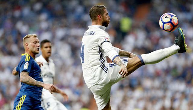 Sergio Ramos despita al sector con sus botas negras