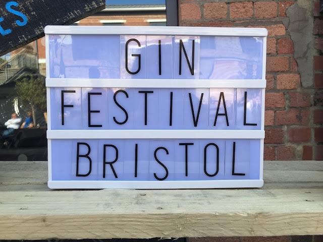Gin Festival Bristol 2016 signage