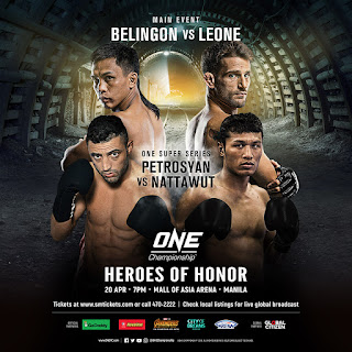 ONE: HEROES OF HONOR in Manila