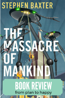The Massacre of Mankind by Stephen Baxter is not a feel good story. It is an estate-approved sequel to H.G. Wells' classic The War of the Worlds, telling the story of what happened after Earth repelled the martians.
