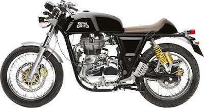 Royal Enfield Continental GT black look