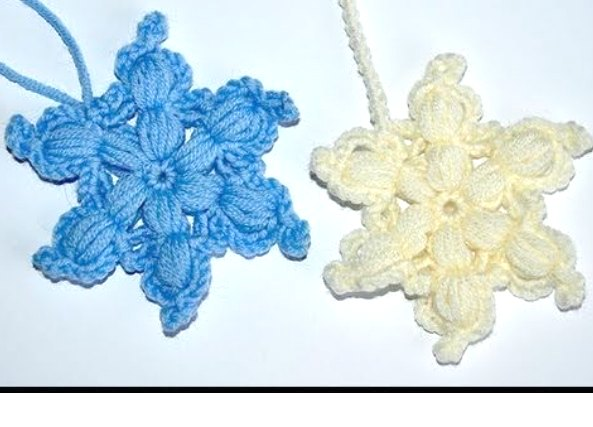 Copo de Nieve en Crochet.Tutorial