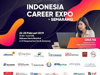 Gratis! Indonesia Career Expo Semarang Tanggal 22-23 Februari 2019 di Ballroom Harris Hotel