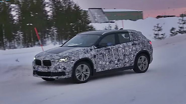 2018 BMW X2 spy shots