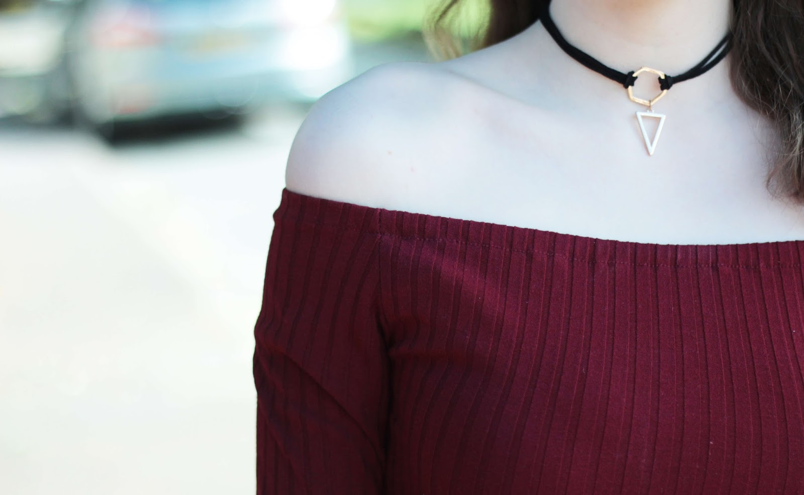 geometric choker how to style