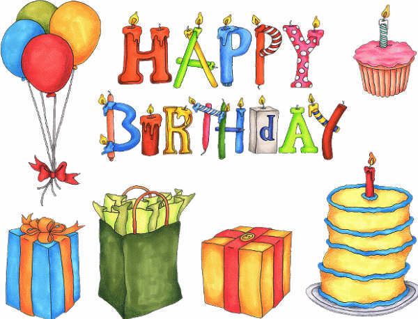 Happy Birthday Tartas para felicitar el Cumpleaños en Inglés u30c4 Tarjetas de Feliz Cumpleaños u30c4