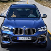 2018 BMW X3 M40i :  New devices and more tech spotlight the changes.