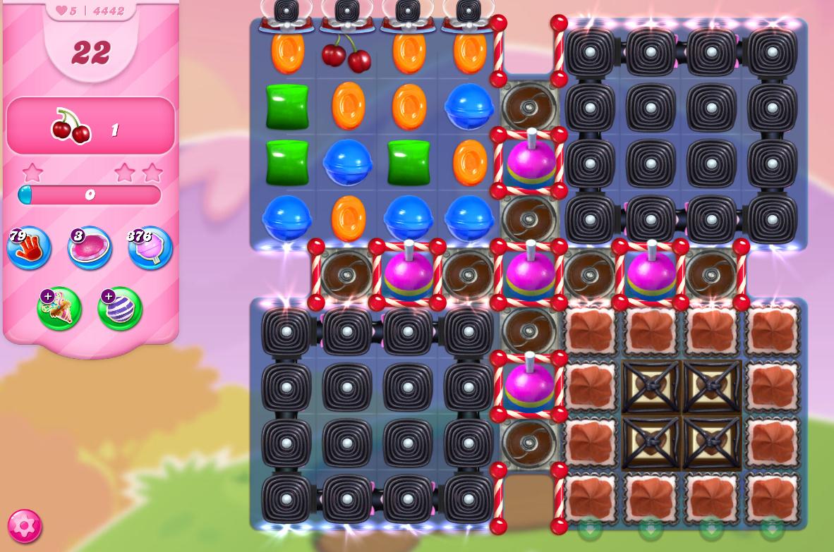 Candy Crush Saga level 4442