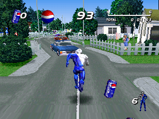 Pepsiman Screenshot
