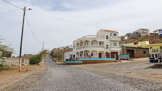 Many houses are unfinnished in Cape Verde