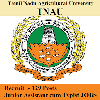 TNAU Admit Card Download