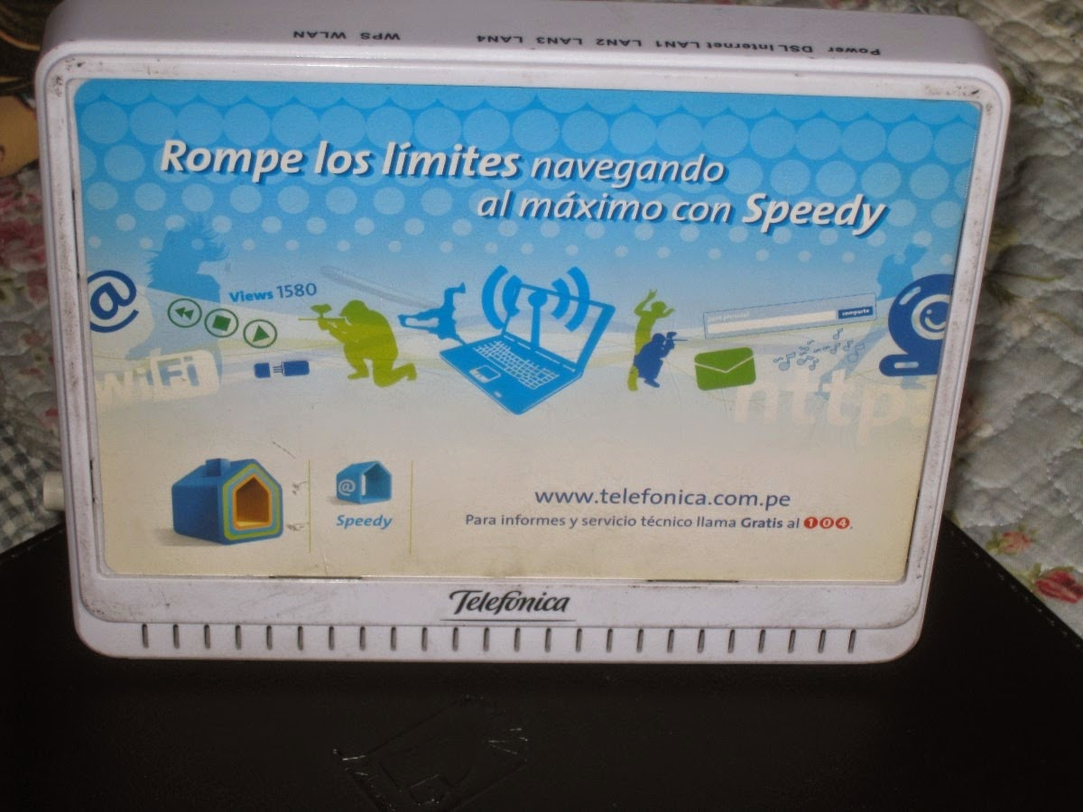 Router  ZTE ZXV10 W300 de Telefónica