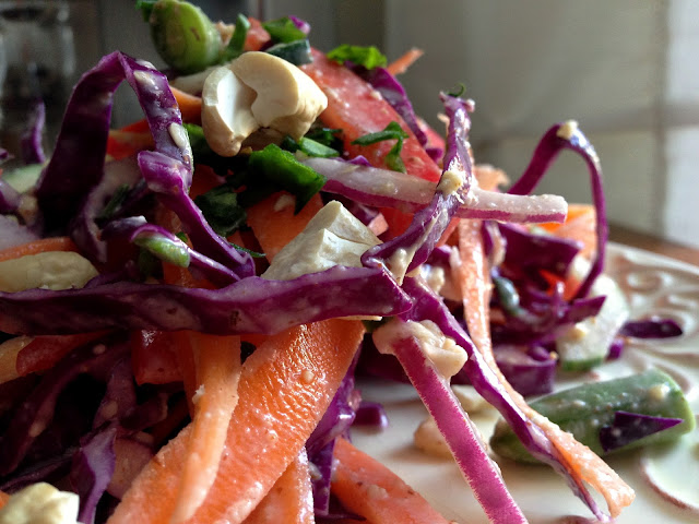 Purple People Pleaser Salad by BeautyBeyondBones! #glutenfree #vegan #paleo #edrecovery