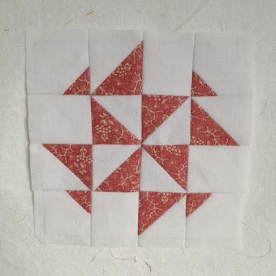 Blok A1 Dear Jane quilt