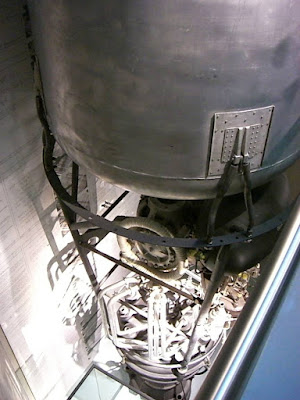 Fuel tank of a V2 rocket