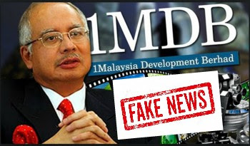 Image result for 1mdb fake news tumpang sekole