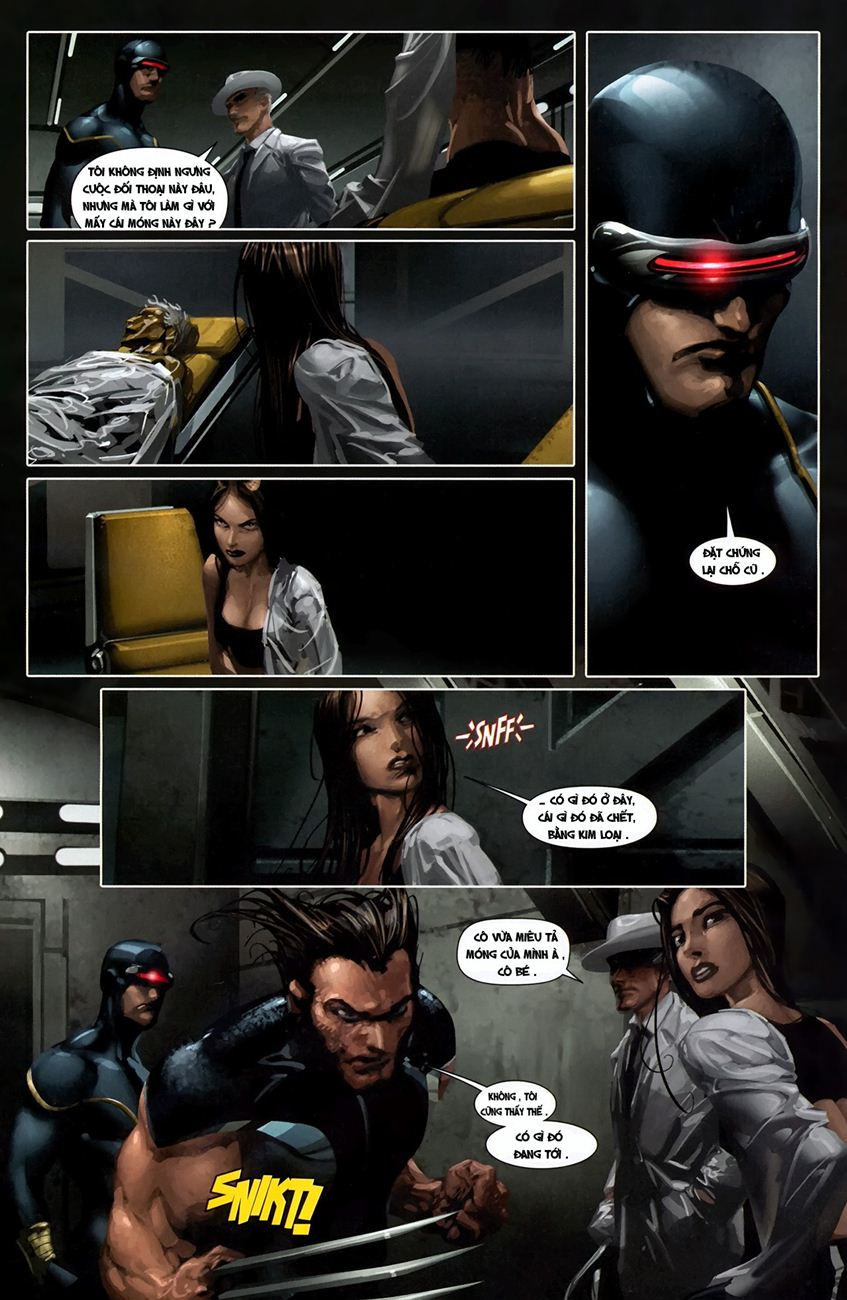 X-Men Necrosha chap 1 trang 14