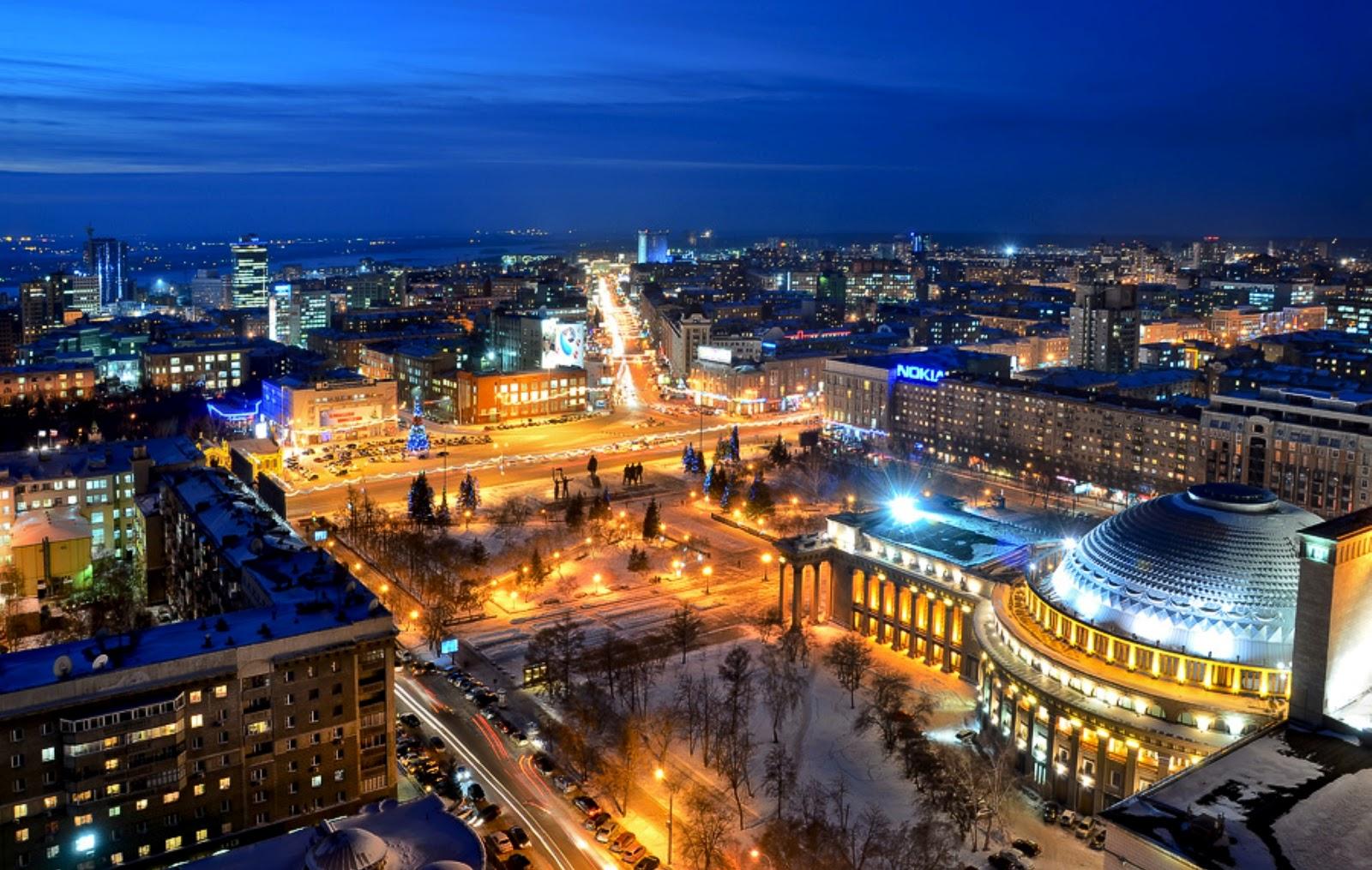Novosibirsk ( Новосибирск ). A voyage to Novosibirsk ...