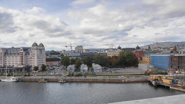 Opera w Oslo, opera, opera house, zwiedzanie Oslo, panorama miasta, Oslo widok miasta