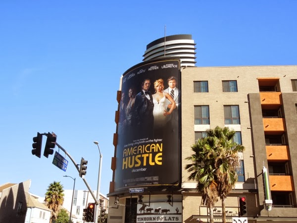 American Hustle billboard