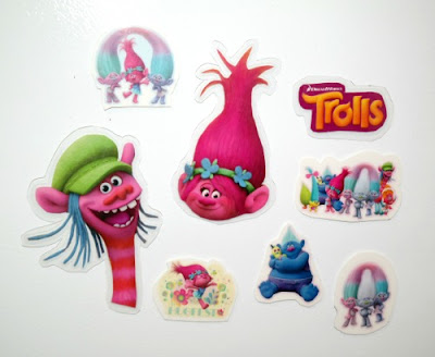Kid's Craft Project: Trolls Theme'd Refrigerator Magnets