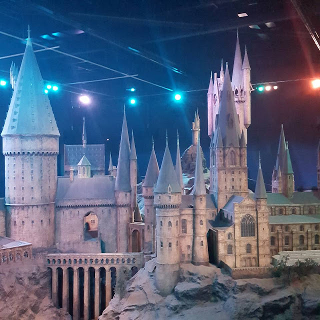 Warner Brothers Studio Tour Hogwarts scale Model
