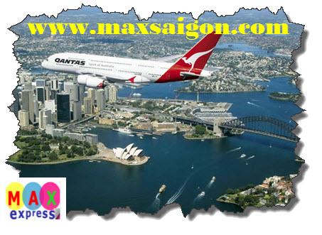 Chuyển phát nhanh hàng hóa đi Úc bằng đường hàng không