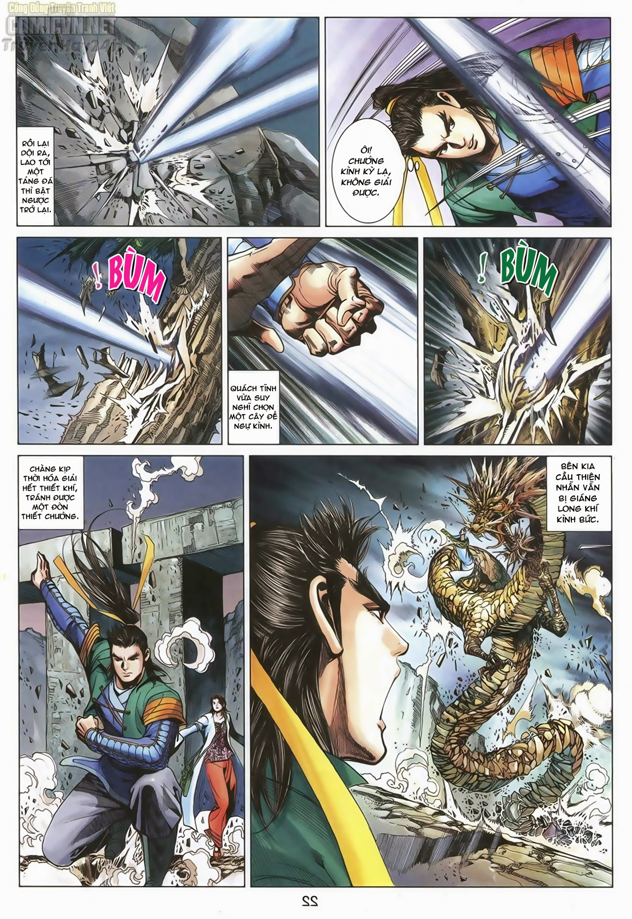 Anh Hùng Xạ Điêu anh hùng xạ đêu chap 67: quyết chiến hiên viên đài trang 21