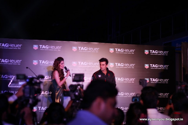Uncut Pictures Of TAG Heuer India's Ad Campaign Don't Crack Under Pressure Launch By Brand Ambassador Ranbir Kapoor