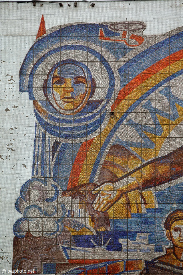 советские мозаики