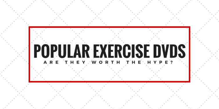 Popular Exercise DVDs