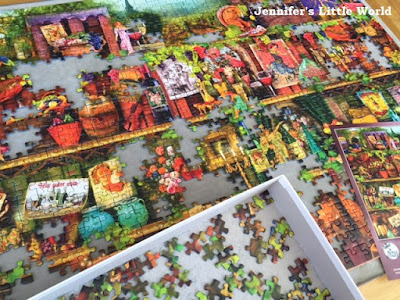 Glorious Vintage jigsaw puzzle from Ravensburger