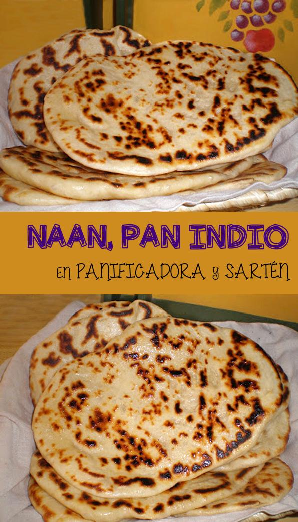 NAAN CON AJO PAN INDIO EN PANIFICADORA Y SARTEN COCINA RECETA GASTRONOMIA INDIA YOGUR GHEE PANADERAIA PANARRA