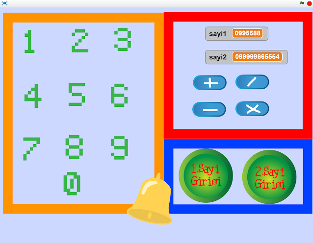 Scratch ile Hesap Makinası Yapma