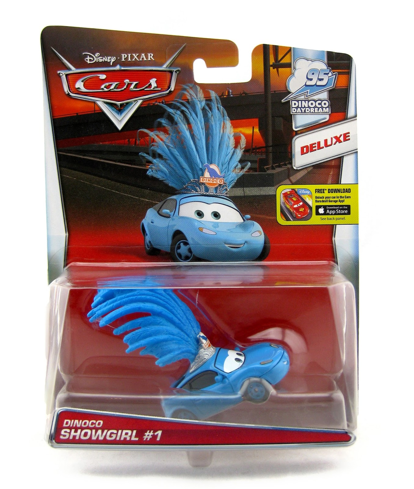 Dan The Pixar Fan Cars Dinoco Showgirl 1