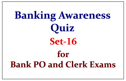 Important Banking Awareness Quiz