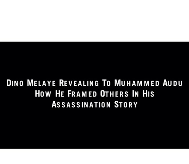 """Melaye Caught On Tape Revealing How He Framed """"Suspects"""" In His Alleged Assassination Attempt"""