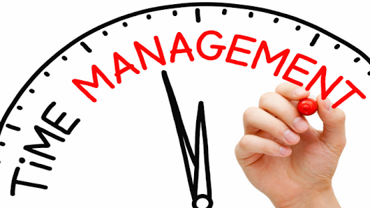 Time Management – Tide and Tide wait for none