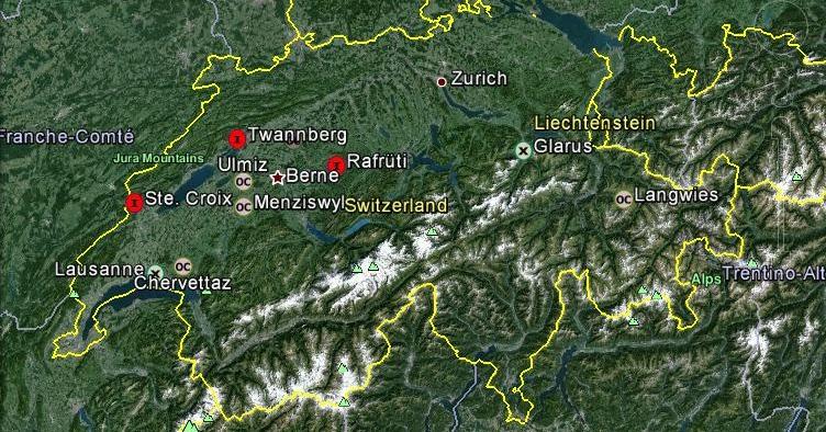 Meteorit Schweiz