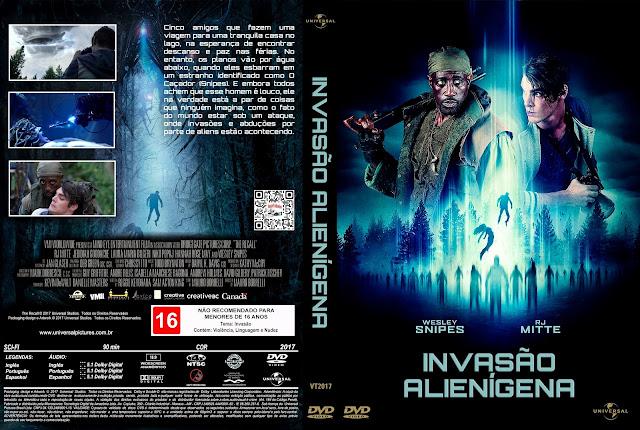 Capa DVD Invasão Alienígena [Exclusiva]