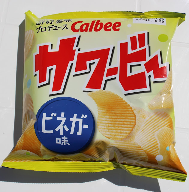 Sawabee vinegar flavored chips