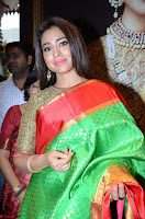 Shriya Saran Looks Stunning in Silk Saree at VRK Silk Showroom Launch Secundrabad ~  Exclusive 032.JPG