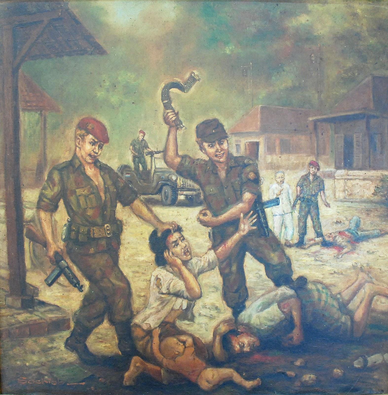 Kumpulan Sketsa Gambar Penjajahan