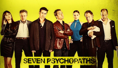 Seven Psychopaths Black comedy movie
