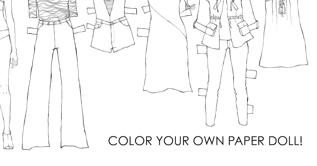 The Spinsterhood Diaries Monday Fun Color Your Own Paper