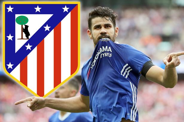 Diego Costa Kembali Ke Mantan Klub Nya Atletico Madrid