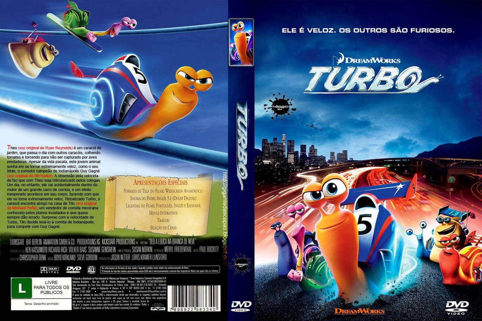 CAPAS DVD VIDEO JP: TURBO