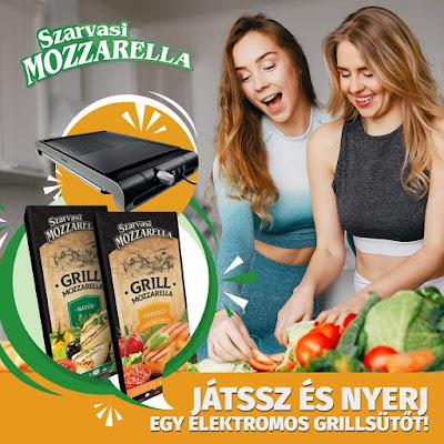 Szarvasi Mozzarella Nyereményjáték